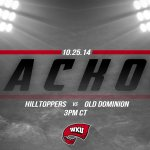 RT @WKUSports: Get up #HilltopperNation! Its a @WKUFootball HOME Gameday! #GoTops Get all your info here: http://t.co/xCnoNs7OGN http://t.co/ED3bH8e55C