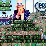 Pack the stands today! The Herd needs you! #GreenhouseEffect #ProtectTheM #MARvsFAU http://t.co/QUOY0CDPe0