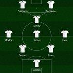 Alineaciones: Rea Madrid vs Barcelona. http://t.co/P66zJAMjM7
