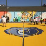 RT @jpmemphis: Lester Community Center getting an extreme @memgrizz makeover today. http://t.co/lO12kU0S13