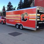 Proud to spend the weekend with the @NHLFlames immersing ourselves in @Sportsnets Hometown Hockey from Saskatoon! http://t.co/nD0hAgMWSr