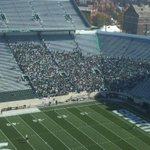 RT @Matt_HayesSN: Sparty students early and pumped. http://t.co/alBTogw50b