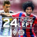 RT @FCBayern: Der Erste reist zum Zweiten – mehr Spitzenspiel geht nicht! Noch 24 Stunden bis #BMGFCB. #Vorfreude #MiaSanMia http://t.co/ElMff4zqI6