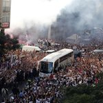 RT @ESPNFC: Real Madrid arrive for El Clasico. http://t.co/RAg9TN3prU