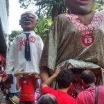 """#SomosTodosDilma BH/MG, Av Afonso Pena: """"Quem não pula é tucano! Quem não pula é tucano!"""" http://t.co/9eR7IVnH6g"""
