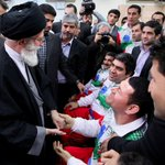 RT @khamenei_ir: Leader expressed gratitude to disabled veterans & athletes who took part in the Asian #Paralympics in #Incheon. #Iran http://t.co/8lzNymsiOz