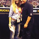 Spotted @ItsBarryWeiss from #StorageWars at the #PBRFinalsRodeo in #LasVegas with client #Wrangler! http://t.co/uuFsO8Zp8v