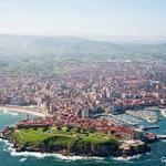 RT @_Paisajes_: Gijón desde el aire, Asturias (España) http://t.co/v0fB74B7gz