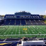 Beautiful autumn day in Annapolis for #Navy Football on DCs 1500AM. Kickoff at 1p vs San Jose State @navyathletics. http://t.co/95nq52wsxW