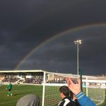 Spennymoor 2-2 Telford. Two late goals to draw and not much else to say, heres a rainbow http://t.co/GwOt71OAtR
