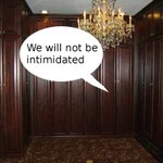 We will not be intimidated. #cdnpoli #canpoli http://t.co/GssH2d22N0