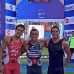 RT @GuerreroTurismo: Irving Pérez oro, Juan Delgado plata y Eduardo Moreno bronce Triatlón @Telcel #Acapulco @Visitacapulco @Chiltepec1 http://t.co/aVaz60xoIk