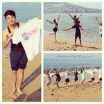 Los integrantes del Ballet Folclórico Honghe de Yunnan ya en el puerto de #Acapulco, listos para inaugurar #LaNao2014 http://t.co/LDWyDmzqB9