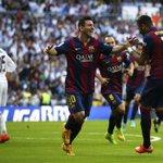 RT @TabascoHOY: Así celebraron el primer gol de @neymarjr para el Barcelona #RMA 0 - 1 #BAR http://t.co/bPr80FbEYQ