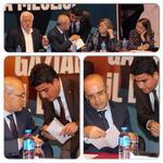 Maliye Bakanımız Sayın Mehmet Şimşek bugün Gaziantepteydi.. Birçok önemli konularla ilgili toplantılar yaptı... http://t.co/nU0BK4vfD8