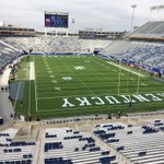 RT @UKRadioNetwork: The stage is set for @UKFootball vs. No. 1 Mississippi St. #WhyNot #ChangeTheGame http://t.co/pXtOHU2CNu