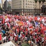 Grande caminha da Unidade Popular pelo RioGrande estamos virando a eleição são só 5 pontos @dilmabr @tarsogenro http://t.co/XSv2LvnTpt