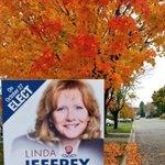 RT @TM_Lane: Leaves are changing in #Brampton. Now time to change the mayor. Vote @LindaJeffrey on Monday. #Brampoli http://t.co/tLH5k6LyKI