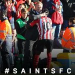 Difficult second half, but well deserved 3 points today at St. Marys. #Proud of #saintsFC team and fans! http://t.co/X4juI43mJU