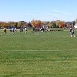 Beautiful day for Region Soccer action. Women host the Harper Hawks. #RockOn http://t.co/0COdUsNcMF