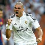 RT @realmadrid: 57 Así celebró @officialpepe el gol que puso por delante al Real Madrid #RealMadridvsFCB #RMLive http://t.co/xBeqtwRT4i