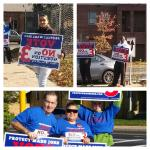RT @ProtectMASSJobs: More photos from the road -- lots of visibilities, canvassing and phone banks. Beautiful day to campaign. #mapoli http://t.co/Fb1HvxJcIR