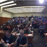 RT @WordCampSF: View of upstairs where lightning talks will be starting in 10 minutes! #wcsf14 http://t.co/N9FxNiRhSY