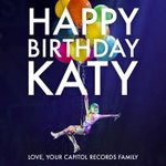 RT @CapitolRecords: HAPPY BIRTHDAY @katyperry! Love, @CapitolRecords #HappyBirthdayKatyPerry http://t.co/Yd4tusg6F3