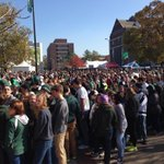 Spartan students are ready to enter at the Spartan Stadium @msufcu student gate. http://t.co/ujaMmbG7hm