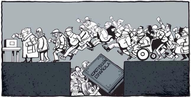 Dia per saltar-se la legalitat espanyola segrestada pel PP amb legitimitat democràtica #Ferreres #totsavotar http://t.co/eGCS7SBMtL