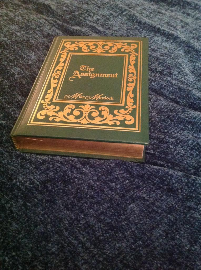 The best ever! @vivianaleigh: most intriguing book Ihave EVER read constant reference! @drmikemurdock's TheAssignment http://t.co/y2gz4H93hK