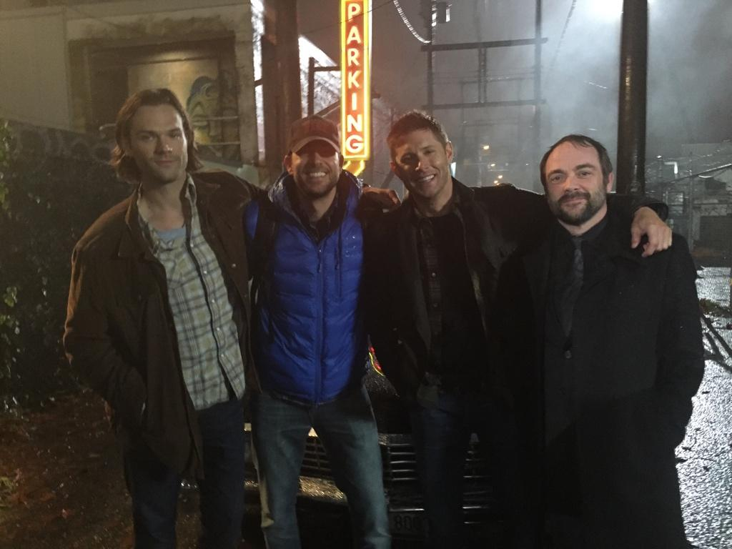 Hey Vancouver: less rain & more @jarpad @JensenAckles & @Mark_Sheppard. Thanks. Sincerely, me. #Chuckernatural? http://t.co/H2s8pcQZRQ