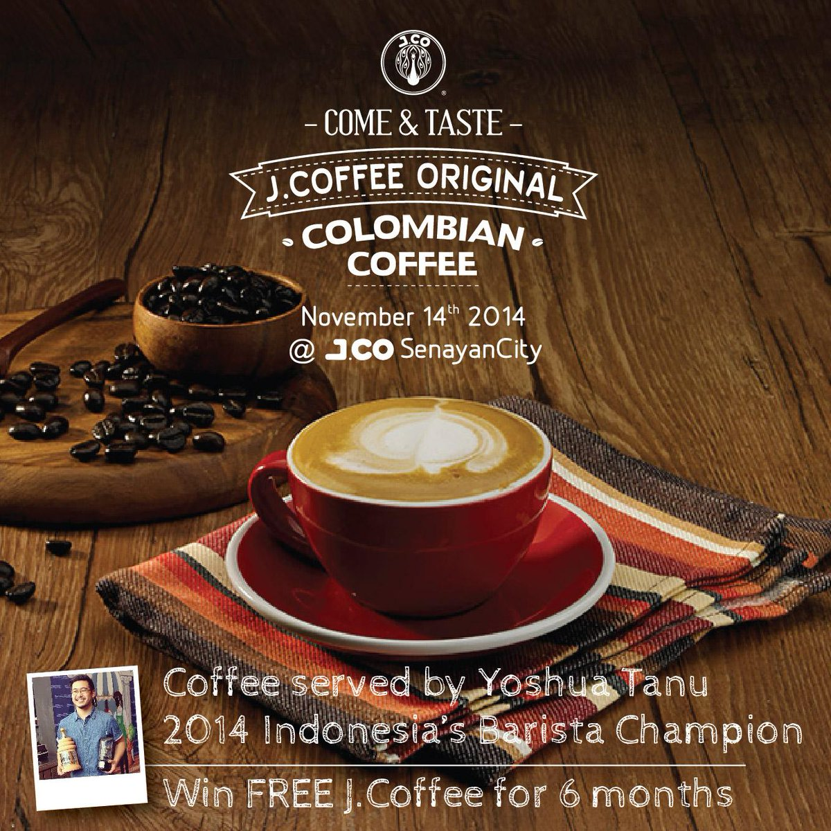 RETWEET this post and have a chance to win FREE http://t.co/44hBNcXTsM  for 6 months! #JCoffee http://t.co/PbsrnDPZW9