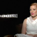 #Interstellar's @jes_chastain on being drawn to the love story in the film: Now Showing, 8.30pm tonight on CNN-IBN