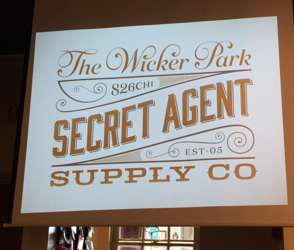 The new hand-drawn font logo by Tommy Quinn for @826CHI's store. Wow. http://t.co/0IdmOSu0LX