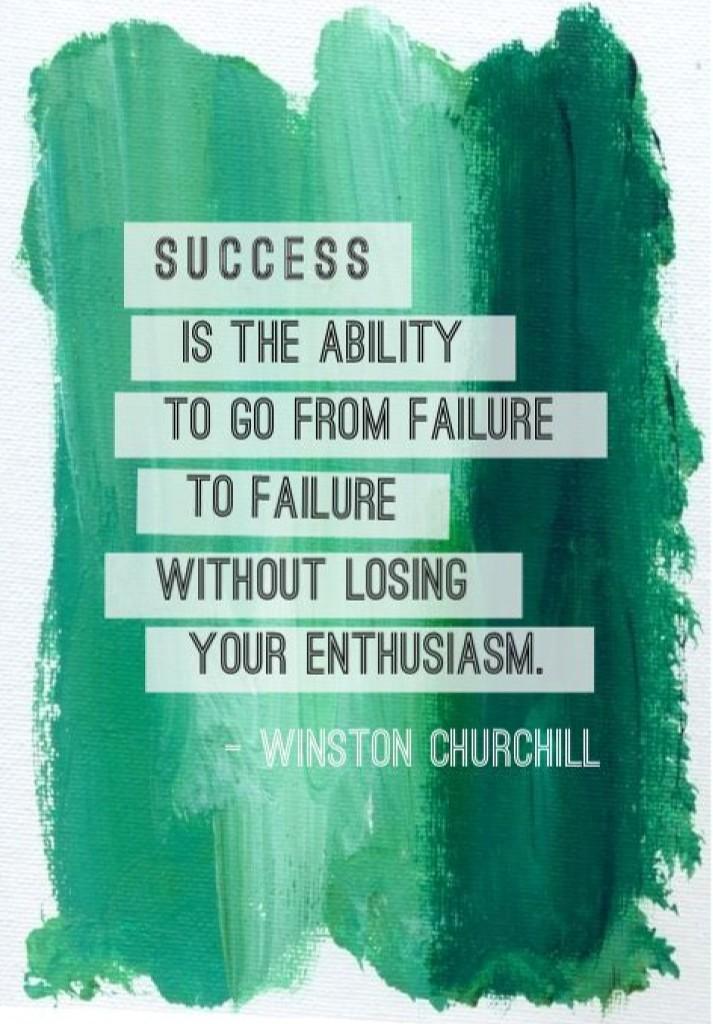 Success and it's connection to Failure #VBL http://t.co/P9EZqXgc8L