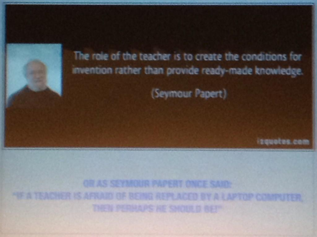 From keynote speaker @RonCanuel #bit14 http://t.co/FrEB2evBp2