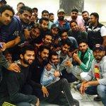 Happy bday to my punjab team mates jivan & ballu tally. God bless u both.enjoyed the eve @YUVSTRONG12 @baltejdhanda