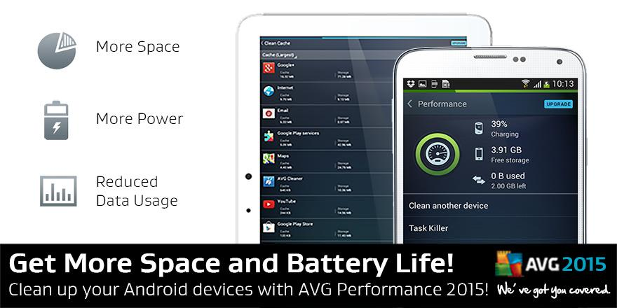 Clean up your Android devices with AVG Performance 2015 now! FREE download! - http://t.co/Lrw2RF0PGf http://t.co/K4gjxBpuCW
