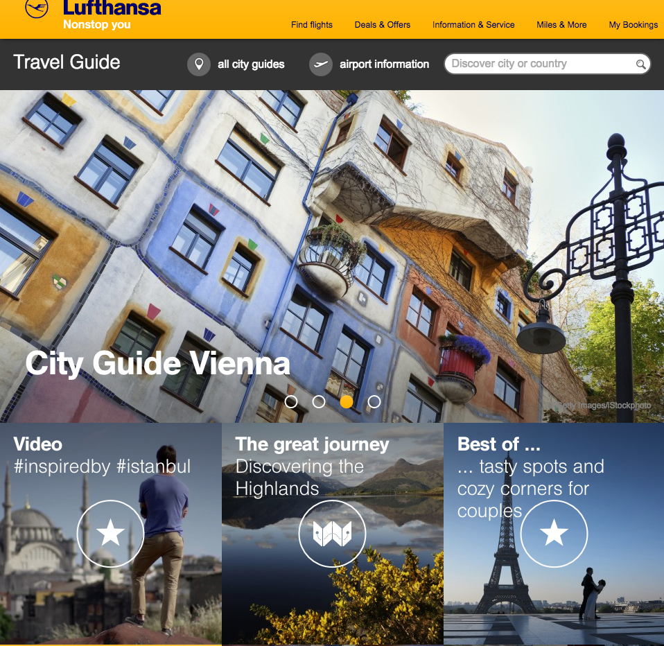 Explore before you go with the Lufthansa Travel Guide, now live! Check it out today @