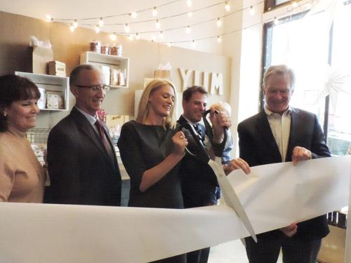 No wonder why they're one of @Oprah's favorite things! Just was at the #RibbonCutting for @AnnieBBBB #lowertown shop. http://t.co/9p9HyB5lxB