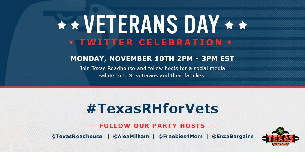 Join us for the #TexasRHforVets Twitter Party 11/10, 2pm ET! RSVP here: http://t.co/YWSSEeyjIP http://t.co/3Zbih0xlAj