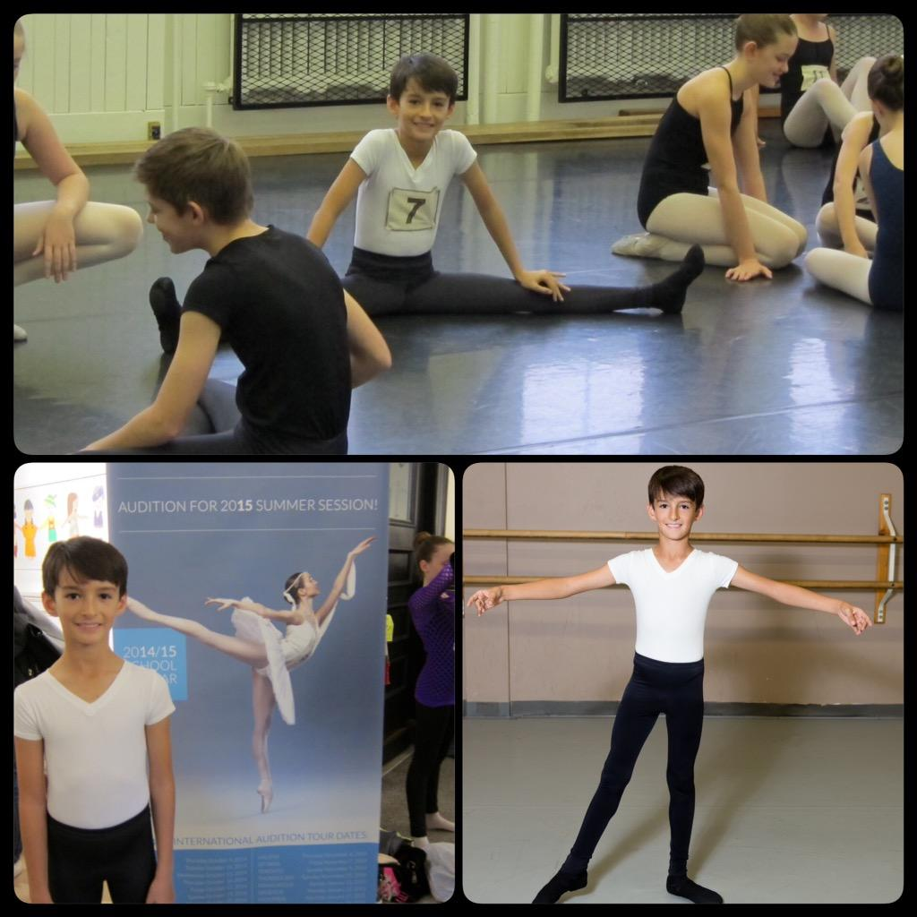 RT @ANClifford: Thanks @RWBallet for a great first audition experience #rwbsauditions http://t.co/fU7TfSnBeN