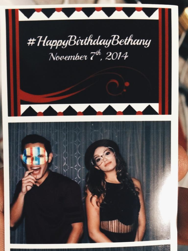@BethanyMota and I best described in 3 photos. (I was caught off guard in the first photo)  #HappyBirthdayBethany http://t.co/St0eAxs5ee
