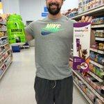 RT @CampSwole: @Schwarzenegger was @Walmart getting toys for my new cats arnold & Franco & had to get some iron whey too http://t.co/vPOsq7…
