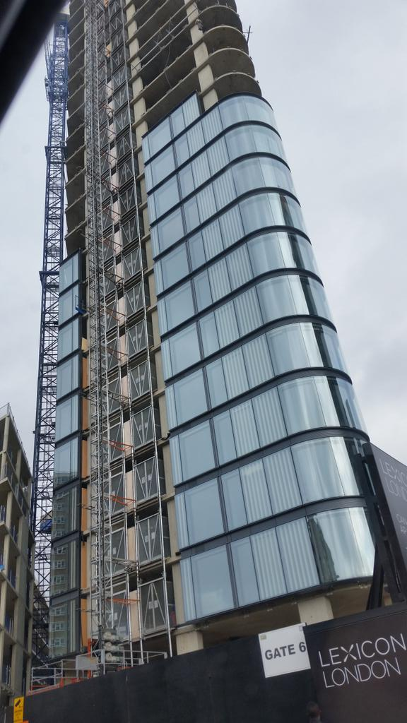 The dictionary of crap residential skyscraper names rises from the ground on City Road http://t.co/e7NoZc22fB