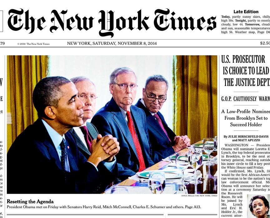 The amazing @dougmillsnyt somehow manages to capture the personalities of all these guys in one front page picture http://t.co/TmDe3iwf2I