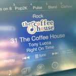RT @rockyraccoon71: @luccadoes great music on a Saturday morning at the coffee house!  @SIRIUSXM http://t.co/EbIu7Xbtmh