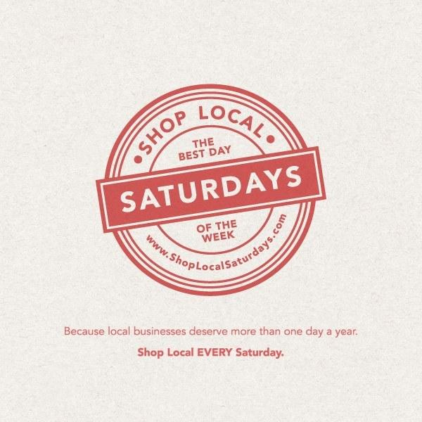 Don't wait 'til 11/29! Make EVERY Saturday #SmallBizSat. What's stopping you? #ShopLocal today! http://t.co/CWCQUQKyBF