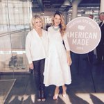 Blake lively and me after our panel at American Made